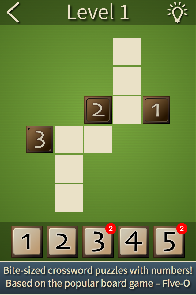 Five-O Puzzle Pro Screenshot 1