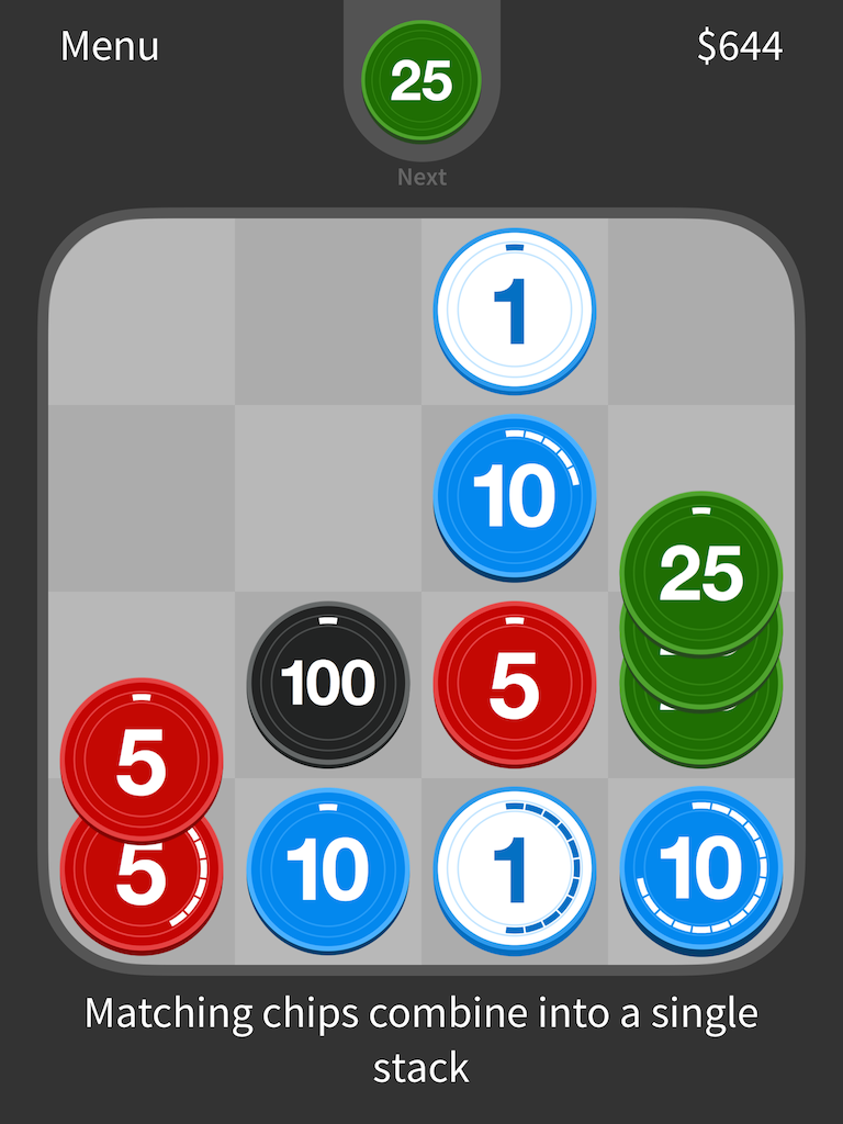 Puzzle Chips Screenshot 2